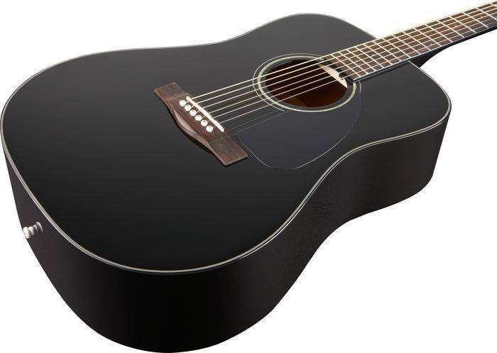 fender fender dg 60 acoustic black v2 no case long mcquade musical instruments. Black Bedroom Furniture Sets. Home Design Ideas