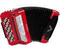 Roland - FR-8xb Button-Style V-Accordion - Red