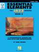 Hal Leonard - Essential Elements for Jazz Ensemble Book 2 - Steinel - C Treble/Vibes - Book/Audio Online