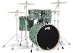 Pacific Drums - Concept Maple 5-Piece Shell Pack (22,10,12,16,SD) - Sea Foam