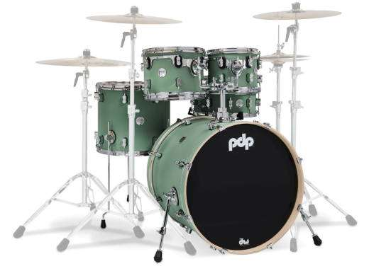 Concept Maple 5-Piece Shell Pack (22,10,12,16,SD) - Sea Foam