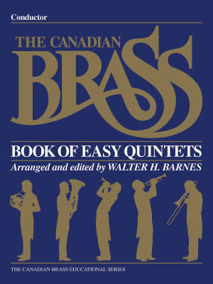 The Canadian Brass Book of Easy Quintets - Barnes - Conductor - Book