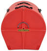 Hardcase - 22 Lined Bass Drum Case - Red