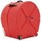 22'' Lined Bass Drum Case - Red