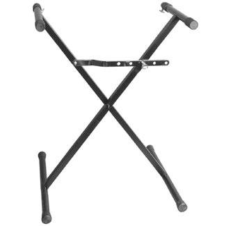 Heavy Duty Single Tier / Single Braced Keyboard Stand