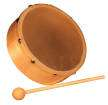 Granite Percussion - 6-inch Wood Frame Hand Drum