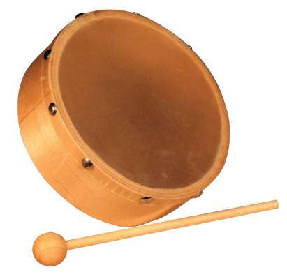6-inch Wood Frame Hand Drum