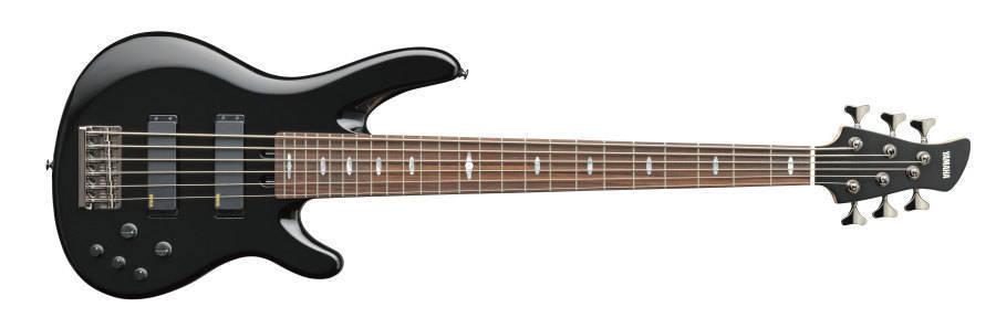 Yamaha trb 6 string bass black long mcquade musical for Yamaha 6 string bass