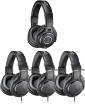 Audio-Technica - M-Series Studio Headphone Pack with (1) M40x + (3) M20x