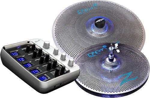 zildjian zildjian gen16 acoustic electric cymbal box set 13 in hi hat 18 in ride long. Black Bedroom Furniture Sets. Home Design Ideas