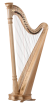 Lyon & Healy - Prelude 40 String Lever Harp - Natural