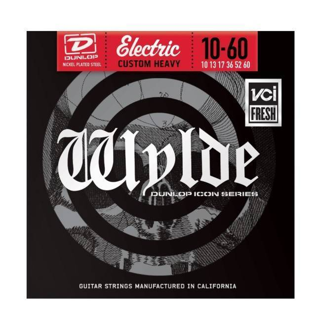 dunlop zakk wylde electric strings heavy 10 60 long mcquade musical instruments. Black Bedroom Furniture Sets. Home Design Ideas