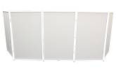 ProX - 5-Panel DJ Facade with White Frame/Scrims/Carry Case