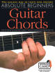 Music Sales - Absolute Beginners Guitar Chords - Book/Audio Online