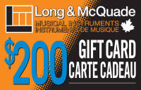 Long & McQuade - $200 Gift Card