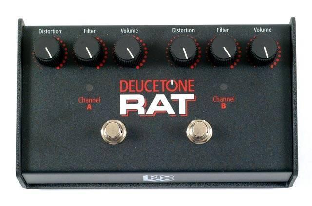 Rat Deucetone Rat Pedal Long Amp Mcquade Musical Instruments