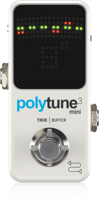 Polytune Mini 3 Chromatic Pedal Tuner