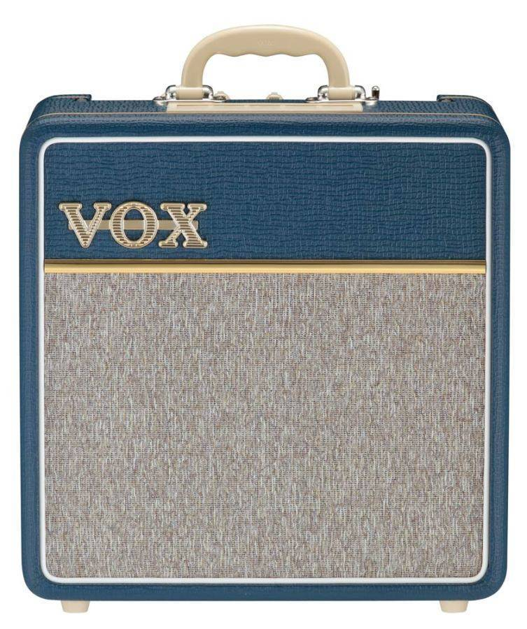 Vox - 4 Watt Tube Combo Blue With VX10 Speaker