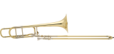 Bach - 42BO Stradivarius Series Professional Tenor Trombone with Open-Wrap F-Rotor