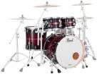 Pearl - Masters Maple Complete 4pc Shell Pack 22/10/12/16 - Red Burst Stripe