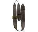 Perris Leathers Ltd - 2 The Classy Line Leather Guitar Strap -  Espresso