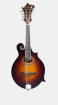 Eastman Guitars - F-Style Oval Mandolin Solid Spruce/Maple Sides