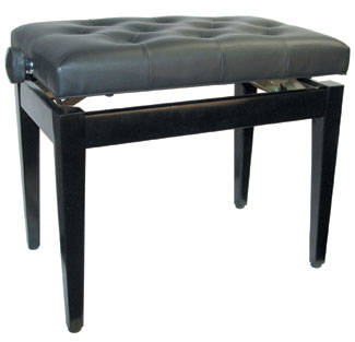 Yorkville sound deluxe home piano bench with height adjustment long mcquade musical instruments Piano bench height