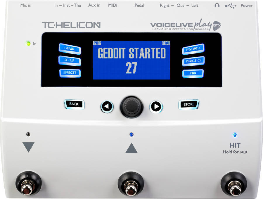 Tc Helicon Voicelive Play Gtx Harmony Amp Fx For Guitarists