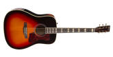 Norman - ST50 Acoustic-Electric Guitar w/TRIC Case - Cherryburst