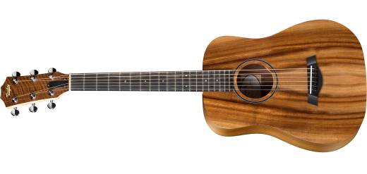 BTe All-Koa Baby Taylor w/Pickup and Gig Bag - Left Handed
