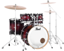 Pearl - Decade Maple 5-Piece Shell Pack (22,10,12,16,SD) - Deep Red Burst