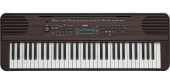 Yamaha - PSR-E360 61-Key Portable Keyboard - Dark Walnut
