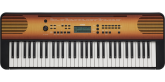 Yamaha - PSR-E360 61-Key Portable Keyboard - Maple