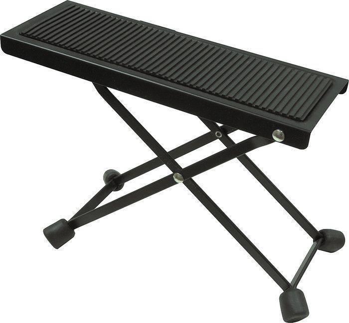 yorkville sound guitar foot stool long mcquade musical instruments. Black Bedroom Furniture Sets. Home Design Ideas