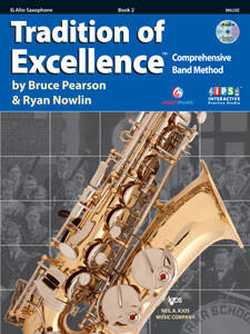 Tradition Of Excellence Book 2 - Alto Sax