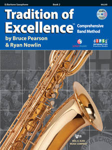 Tradition Of Excellence Book 2 - Baritone Sax