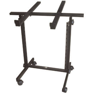 10 Space Tilt Top Rolling Studio Rack