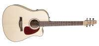 Seagull Guitars - Performer CW Flame Maple QI w/ Gig Bag