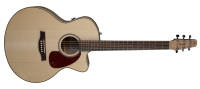 Seagull Guitars - Performer CW Mini-Jumbo Flame Maple QI w/ Gig Bag