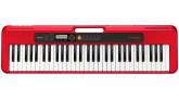 Casio - CT-S200 61-key Portable Keyboard - Red