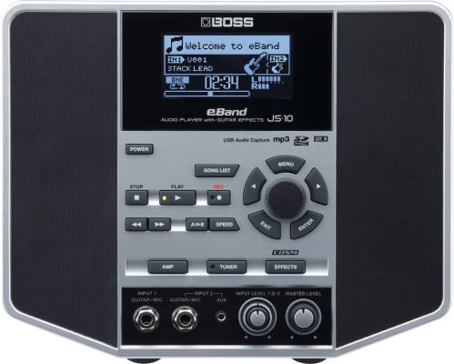 Boss eBand JS-10 Jamstation Audio Player with Guitar Effects