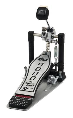 9000 Series Single Bass Drum Pedal, Extended Footboard, with Bag