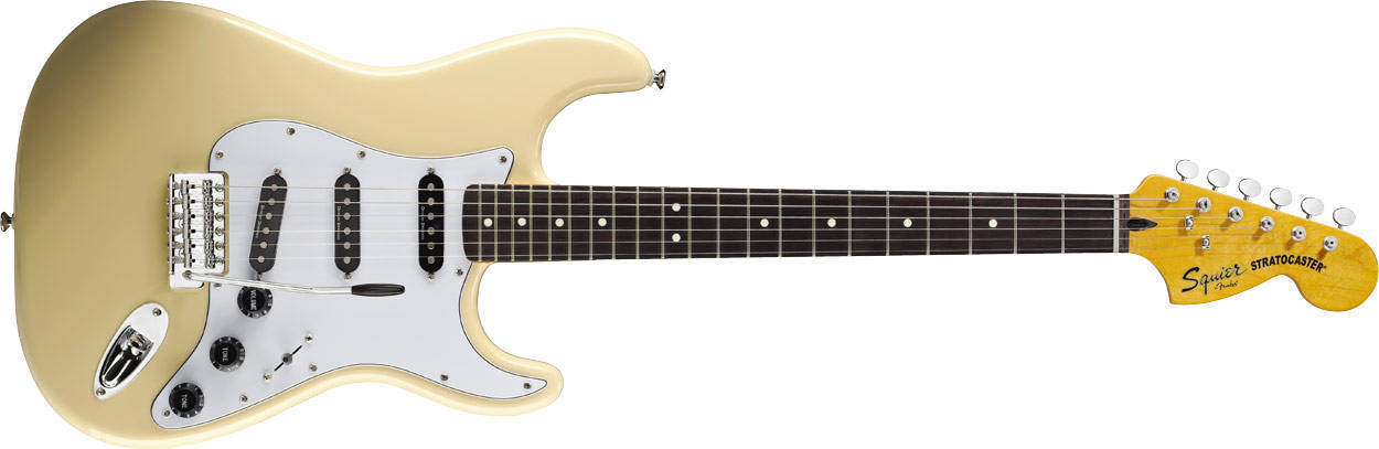 Squier Squier Vintage Modified Stratocaster '70s - Rosewood- Vintage White