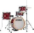Tama - Club-JAM Flyer 4-Piece Kit (14, 8, 10, SN) with Hardware and Throne - Candy Apple Mist