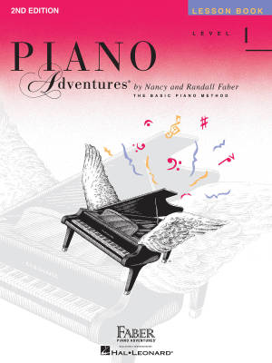 Piano Adventures Lesson Book (2nd Edition), Level 1 - Faber/Faber - Piano - Book