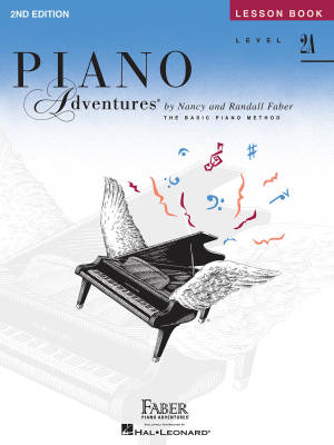 Piano Adventures Lesson Book (2nd Edition), Level 2A - Faber/Faber - Piano - Book