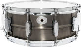 Ludwig Drums - Copper Phonic Seamless Shell Snare, Pewter - 5x14