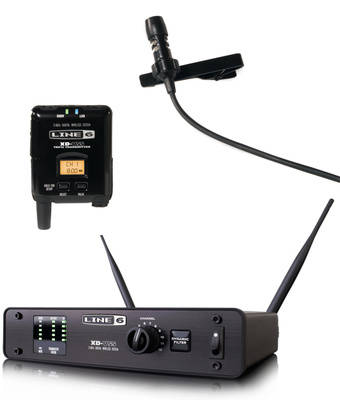 XD-V55L Digital Wireless Lavalier Mic System