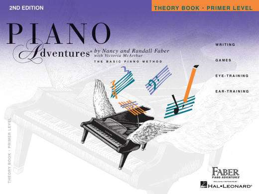 Piano Adventures Theory Book (2nd Edition), Primer Level - Faber/Faber - Piano - Book