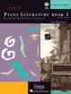 Faber Piano Adventures - Piano Adventures Piano Literature, Book 1 - Faber/Faber - Book/Audio Online